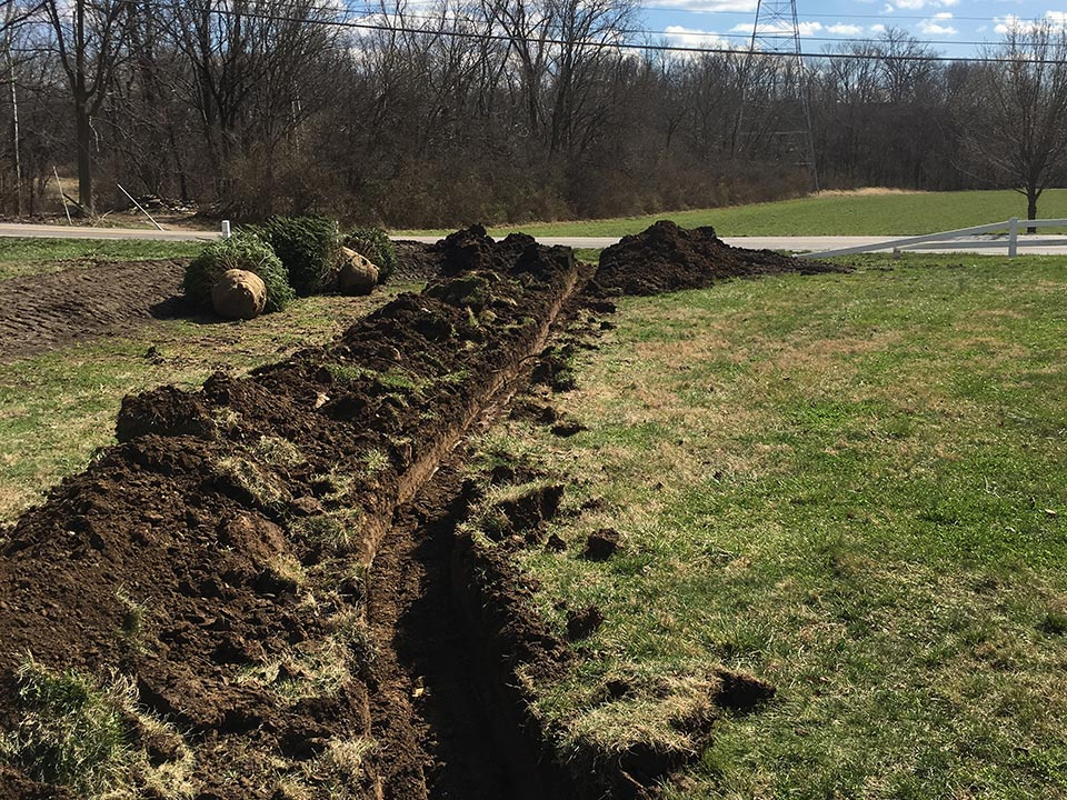 Drainage Solutions Benchmark Land Management West Chester And